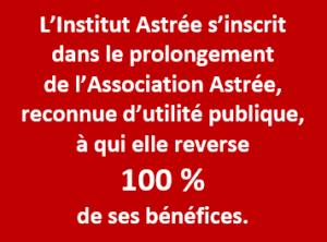 100 % des bénéfices reversés à l'association